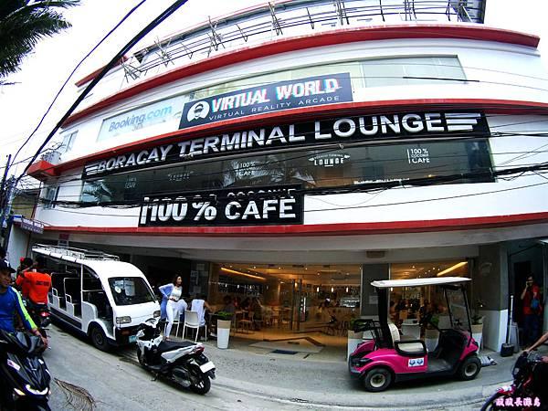 02-Boracay 100% Coconut Cafe 百分之百椰子咖啡店.JPG