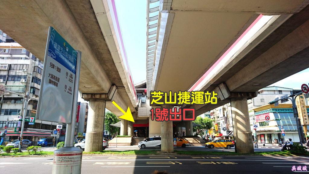02-2017關渡花海節 捷運 交通 芝山捷運站.JPG
