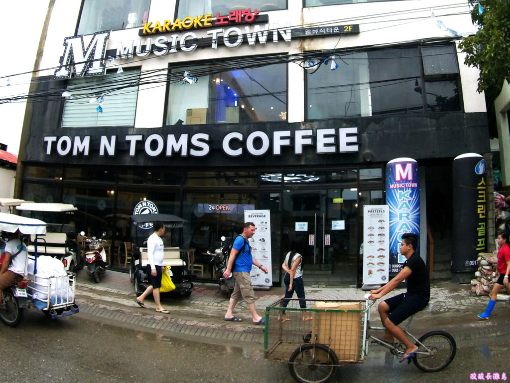 16-Boracay TOM N TOMS COFFEE 長灘島國際連鎖咖啡.JPG