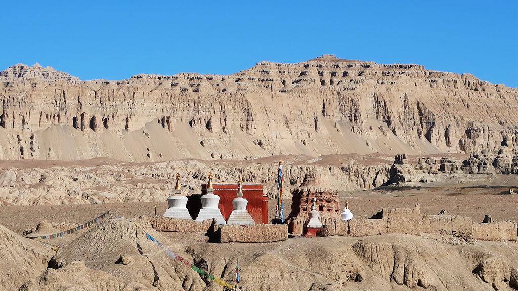 06-西藏阿里千年遺跡 古格王朝 吳酸酸西藏.JPG
