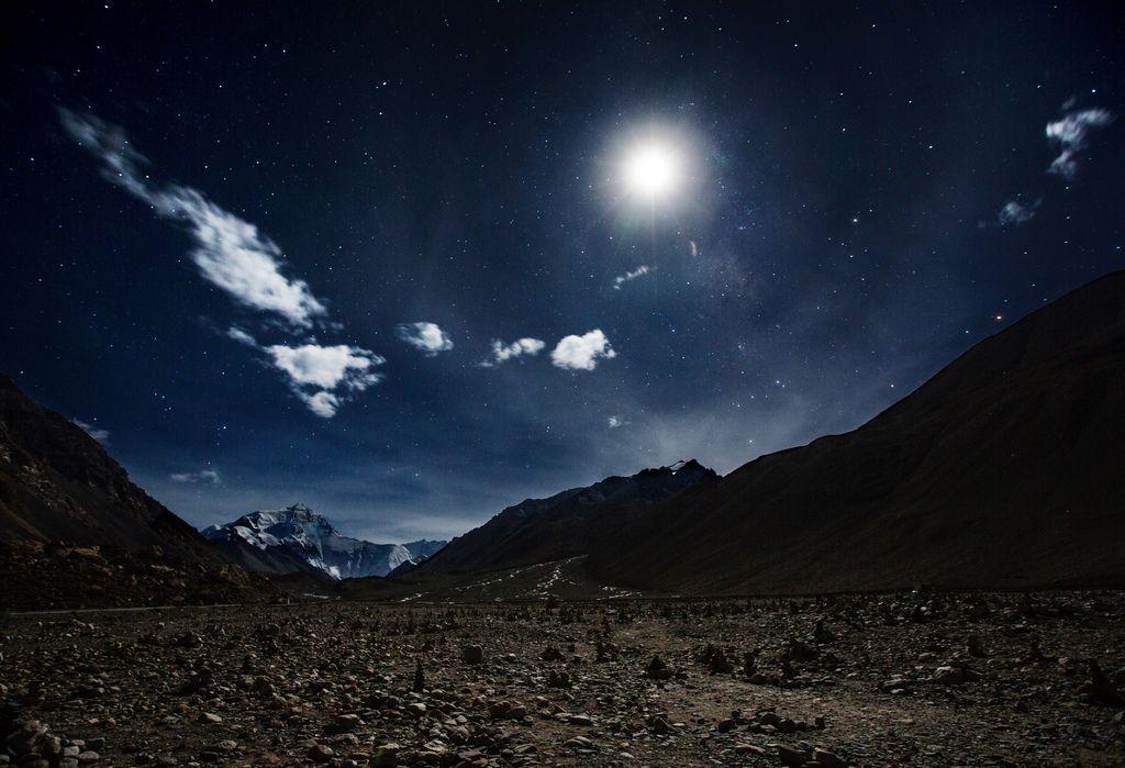 90-5200米珠峰大本營帳篷 西藏吳酸酸 照片提供馬來西亞暖男.jpg