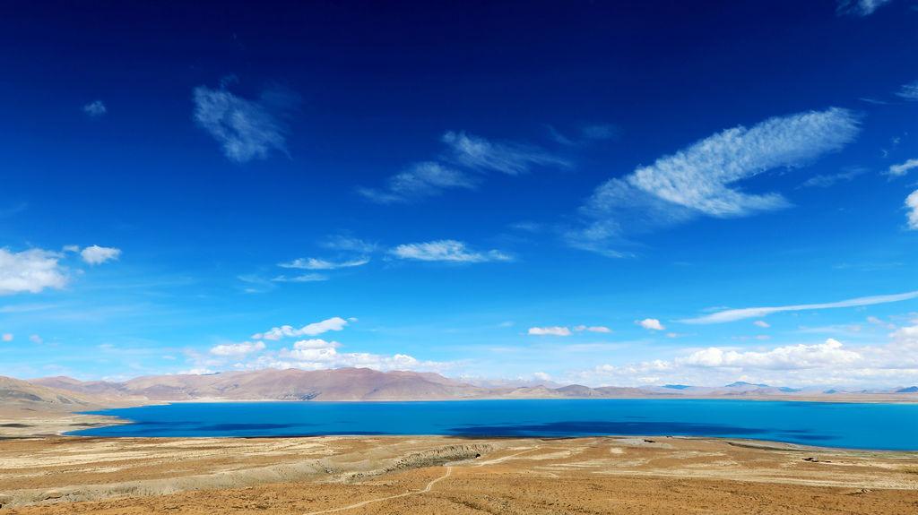 102-珠峰保護區 佩枯措 希夏邦馬峰.JPG