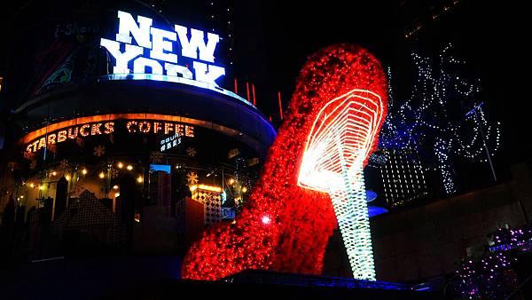 06-統一時代廣場耶誕城。愛Sharing.打造時尚與夢想聖誕.JPG