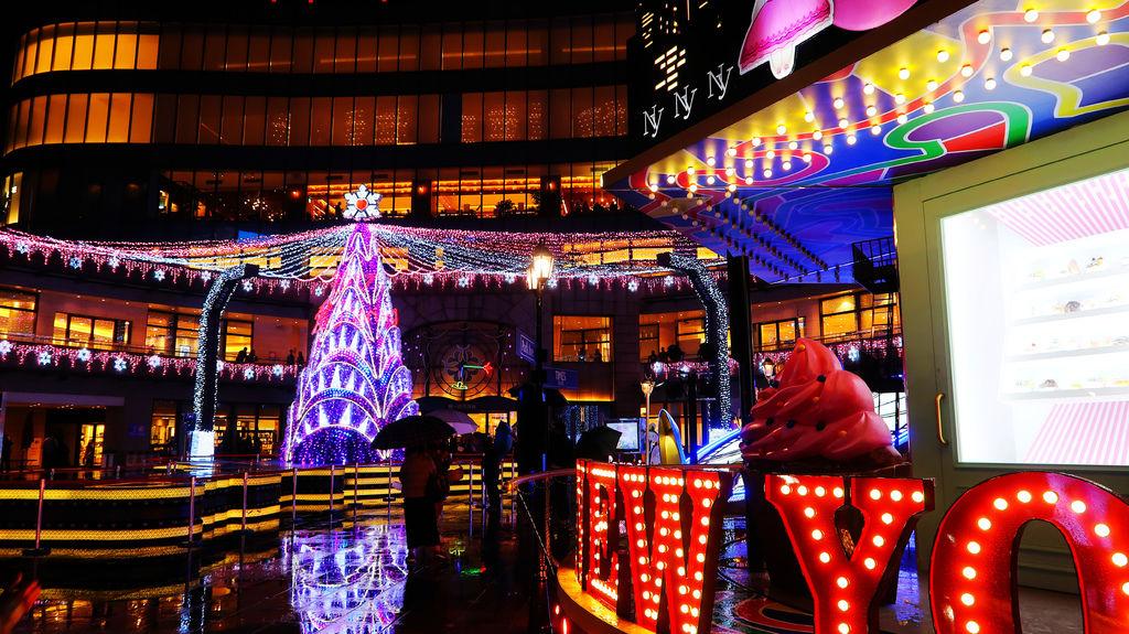 15-統一時代廣場耶誕城。愛Sharing.打造時尚與夢想聖誕.JPG