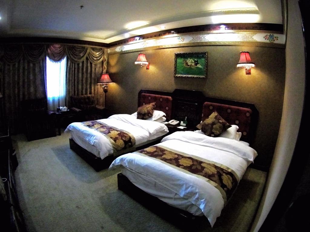 58-西藏吳酸酸 日喀則飯店 扎西曲塔大酒店.JPG