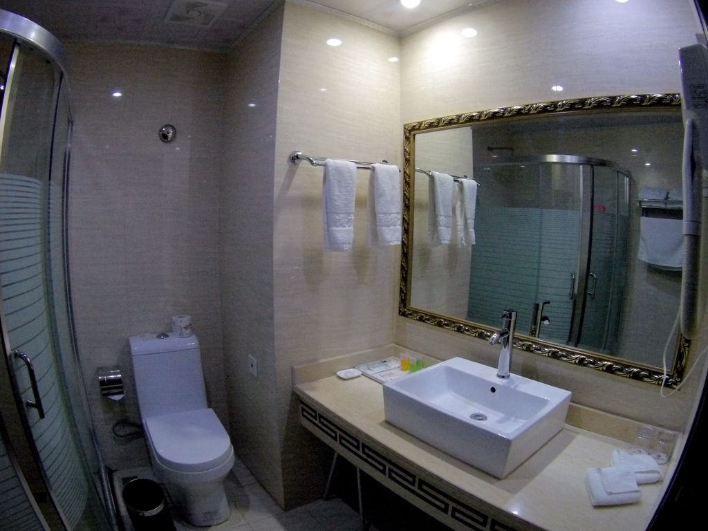 61-西藏吳酸酸 日喀則飯店 扎西曲塔大酒店.JPG