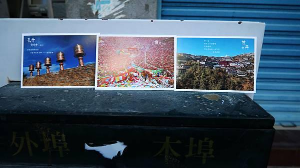 61-從珠峰大本營到薩嘎一路好玩。日喀則薩嘎郵局寄明信片.JPG
