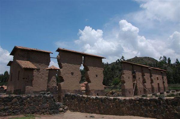 Cusco to Puno bus tour-Raqchi in San pedro-Wiraccocha temple (7).JPG