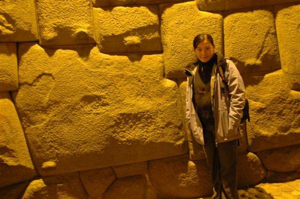 Cusco-城市夜景-著名的十二邊形印加石巷 (1).JPG