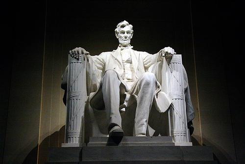 Lincolns-statue