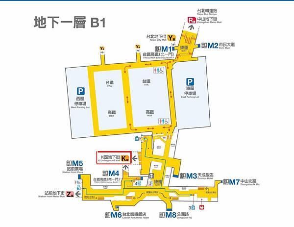 誠品站前店MAP