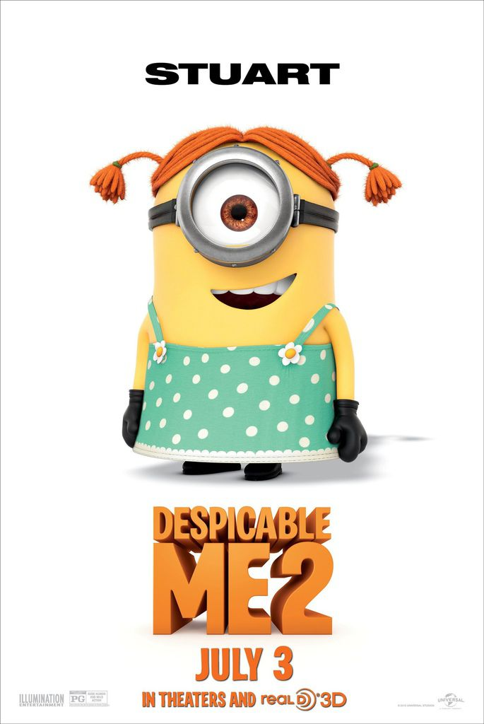 DESPICABLE-ME-2-Stuart-The-Minion-Poster