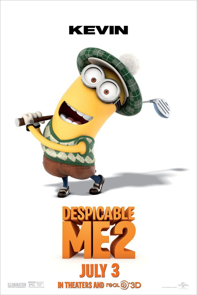 DESPICABLE-ME-2-Kevin-The-Minion-Poster
