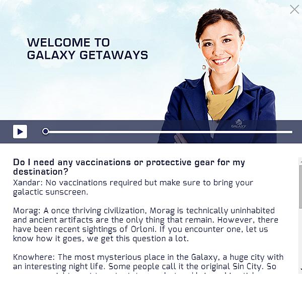 Galaxy Getaways100