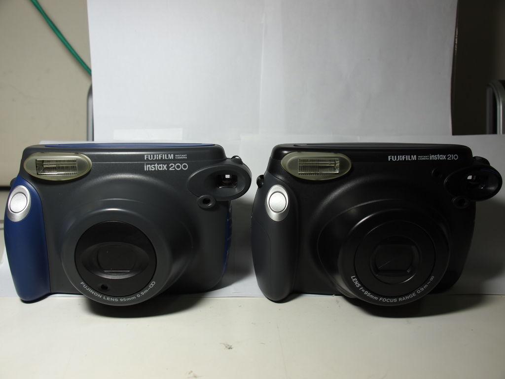 我的心情回憶 - Fujifilm instax 200/210型