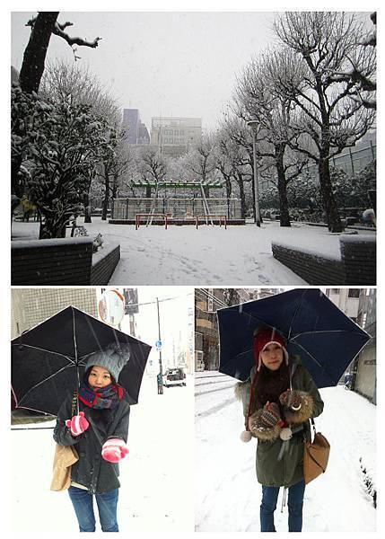 下雪in tokyo