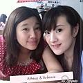 Me and sis@中西美食