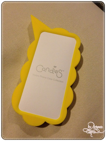 Candies Bonjour iPhone case