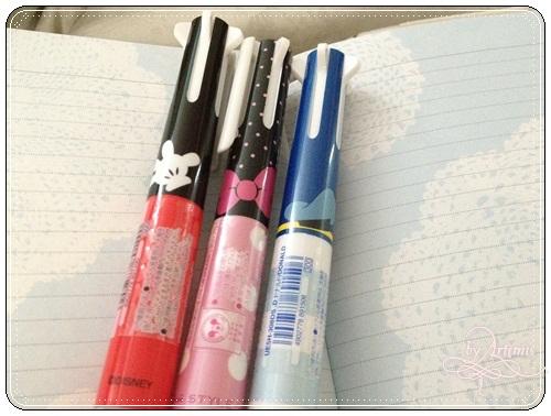 Uni Style fit 迪士尼限定版 五色筆