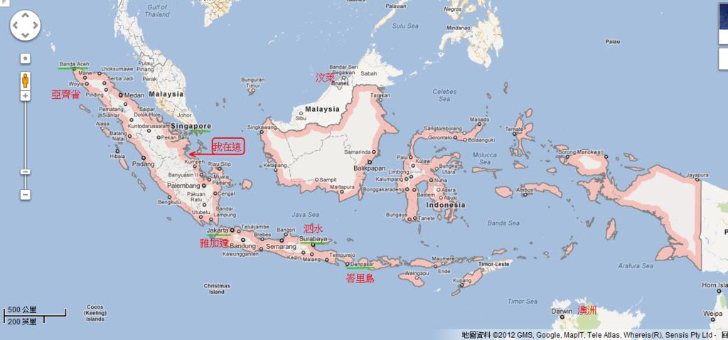 indonesia - Google 地圖