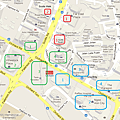 Orchard Road Shopping Map - Orchard -