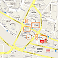Orchard Road Shopping Map - Somerset -