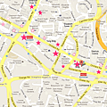 Orchard Road Shopping Map