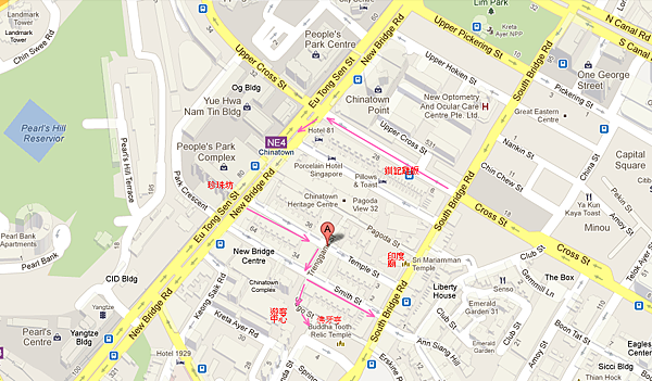 牛車水 singapore - Google 地圖