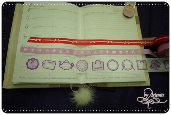 Mark's Diary紙膠帶,美啊!