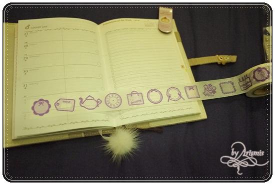 Mark's Diary紙膠帶,一循環的圖案