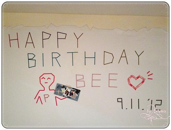 2012 bee bday