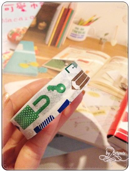 博客來紙膠帶 拿到綠色的