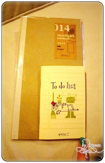 MD Note 手帳用筆記本(小本)
