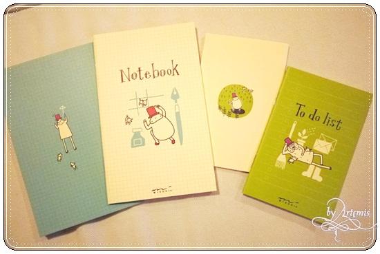 MD Note 手帳用筆記本(大本) Notebook
