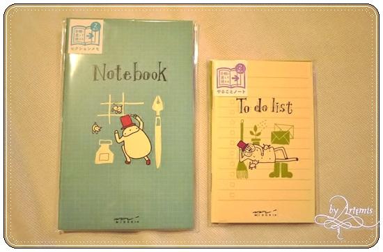 MD Note 手帳用筆記本