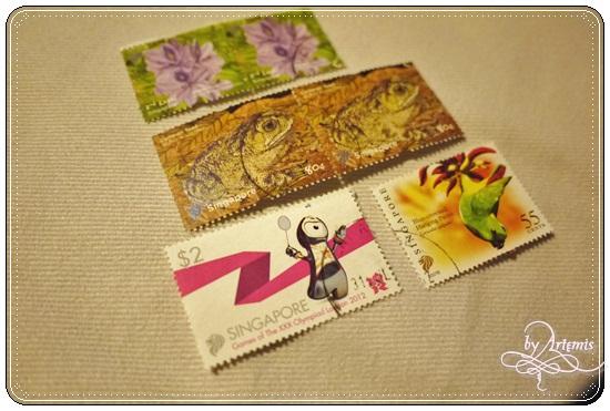 新加坡 郵票