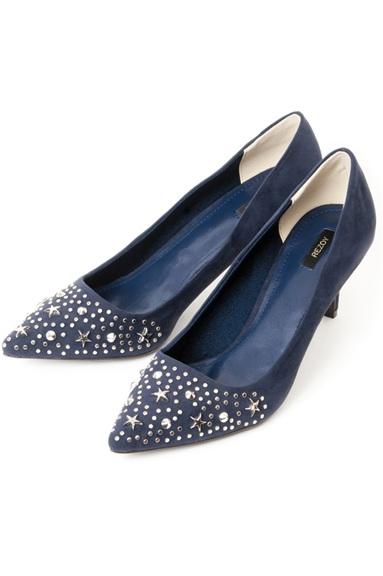 Rezoy heels Navy