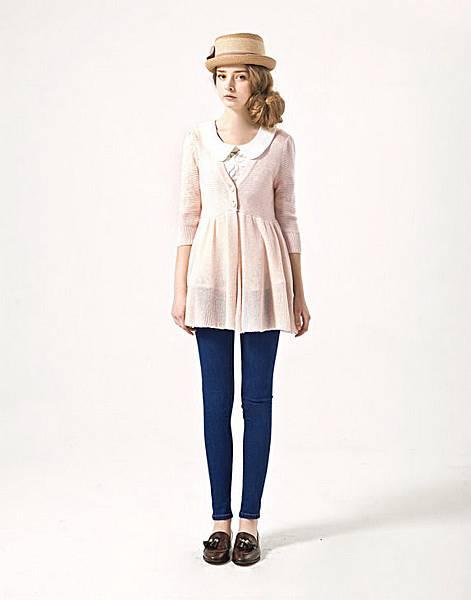 pazzo 2013 ss_knit cardigan_model1