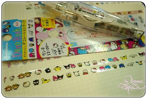 花邊帶 - Sanrio大集合 令人懷念的角色們 :')