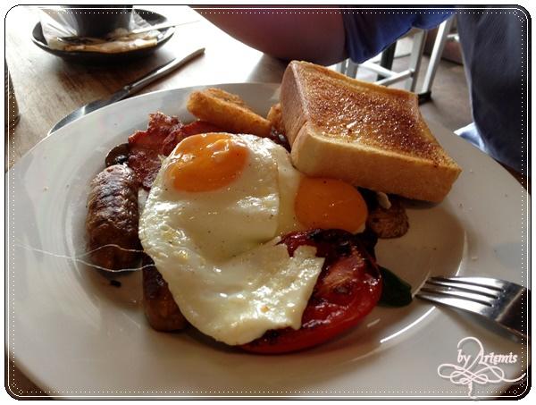 2014夏柏斯西澳】Bunbury - One Forty Cafe早午餐~寄明信片