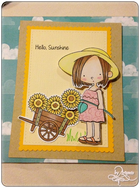 MFT - Birdie Brown Sunflower card