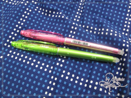 Pilot摩擦筆 - 台灣沒有的顏色