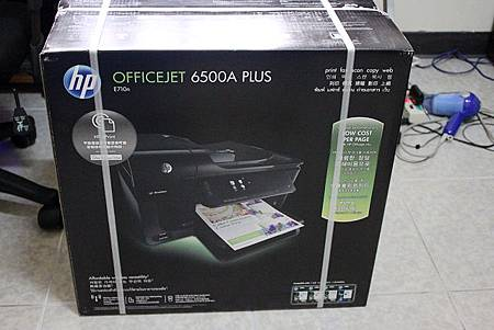 扛回家的HP Officejet 6500A Plus