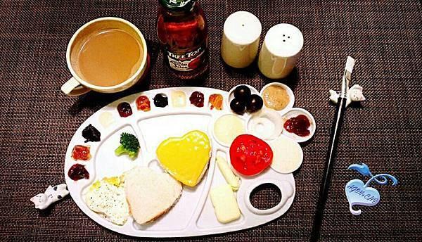 調色盤早餐