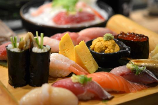 上引水產-特選握壽司