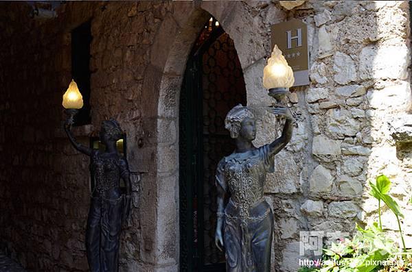 Château de la Chèvre d'Or 艾茲金山羊米其林餐廳2星