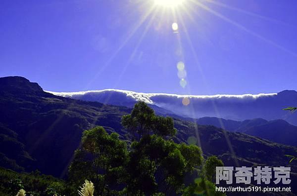 東眼山雲瀑