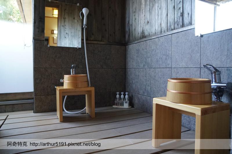 京都嵐山辨慶嵐山溫泉京料理旅館-溫泉01.jpg