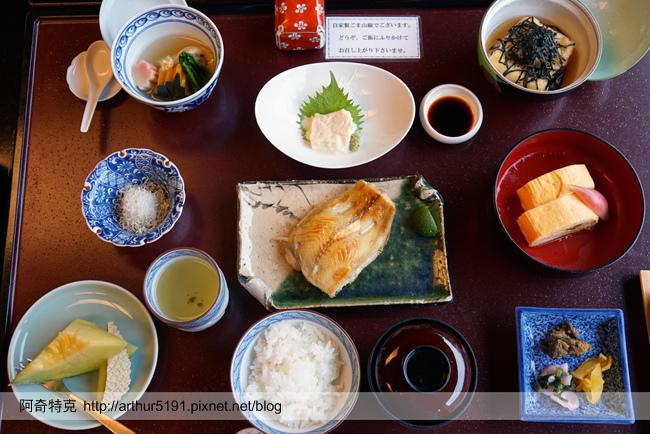 京都嵐山辨慶一泊二食京料理早餐米其林等級-02.jpg