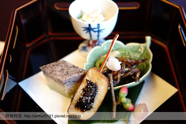 京都嵐山辨慶一泊二食京料理懷石晚餐米其林等級-a02八吋2.jpg